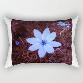Shambhala Flower White 1a - Scrap Rectangular Pillow