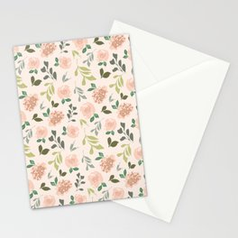 Lillian Floral Pattern Stationery Cards
