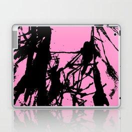 Pink Base black Laptop & iPad Skin