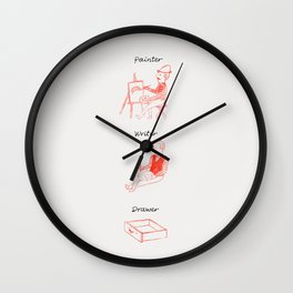 Drawer Wall Clock