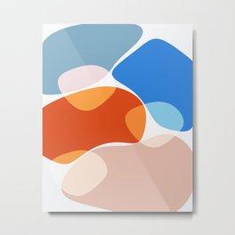 Modern minimal forms 36 Metal Print