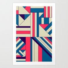 Geo1. Art Print