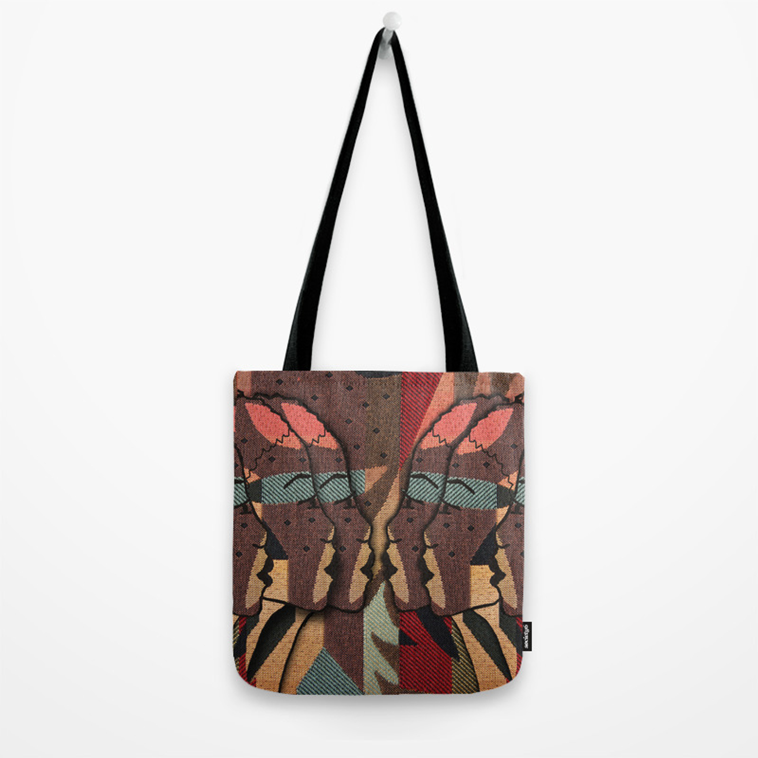 72b64edec African Tapestry Tote Bag by justkidding   Society6