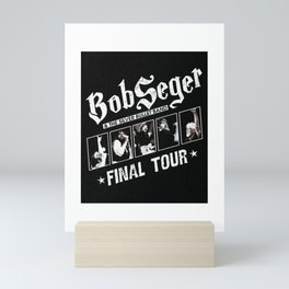 bob seger tour 2021 katrin5 Mini Art Print