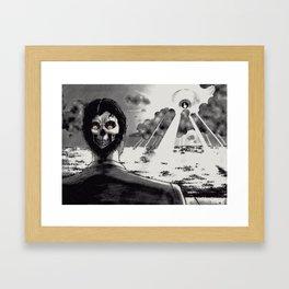 Two Faced Dawn Framed Art Print