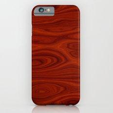Wood Red iPhone 6s Slim Case