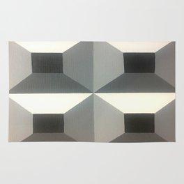 Original Geometric Design by Dominic Joyce Rug