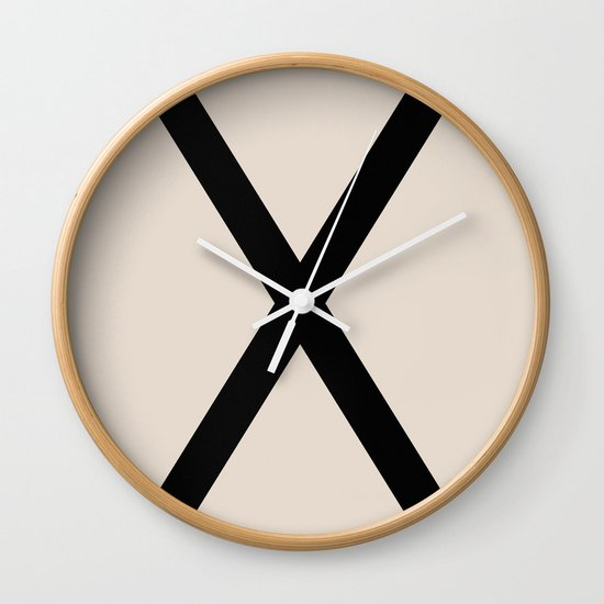 X-Height Wall Clock