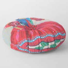 Qajar princess Floor Pillow