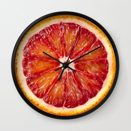 Blood Grapefruit Wall Clock