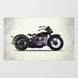 The 1930 Harley Model V Rug