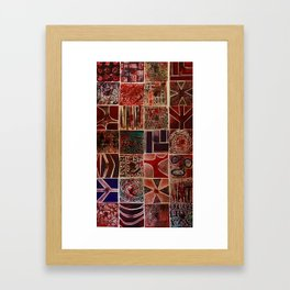 Quilt of a Sort Framed Art Print