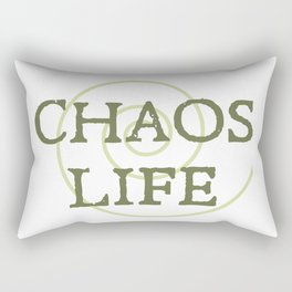 ChaosLife: The Print Rectangular Pillow