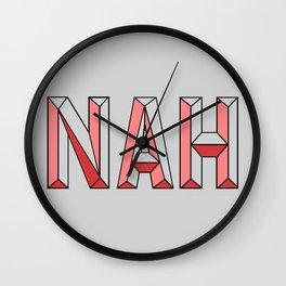 NAH. Wall Clock