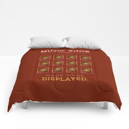 Made to be Displayed — Music Snob Tip #33⅓ B Comforters