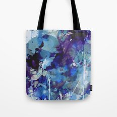 blue forest Tote Bag