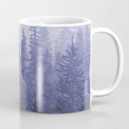 My Misty Secret Forest - deep purple Coffee Mug