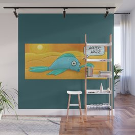Fish in the Desert! Wall Mural