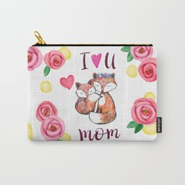 I love you mom Carry-All Pouch