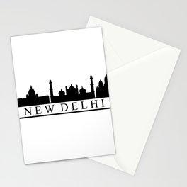 skyline new delhi Stationery Cards