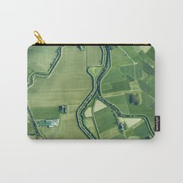 The Aerial View (Color) Carry-All Pouch