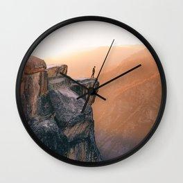 On the cliff, Yosemite Wall Clock