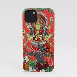 Hindu Durga 5 iPhone Case