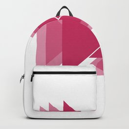 beauty of triangle Backpack