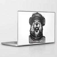 beaver Laptop & iPad Skins featuring Mr. Beaver by Mitzek