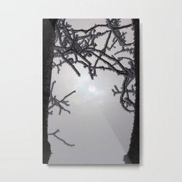 Sun Frame Metal Print