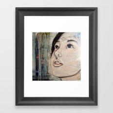 Longing for closure Framed Art Print