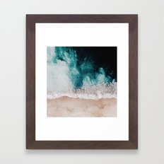 Ocean (Drone Photography) Framed Art Print