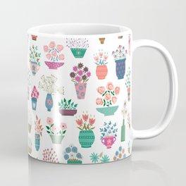 Spring Flowerpots Coffee Mug