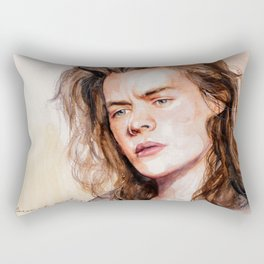 Harry watercolors III Rectangular Pillow