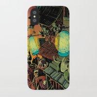lanterns iPhone & iPod Cases featuring Lanterns by Christine Larsen