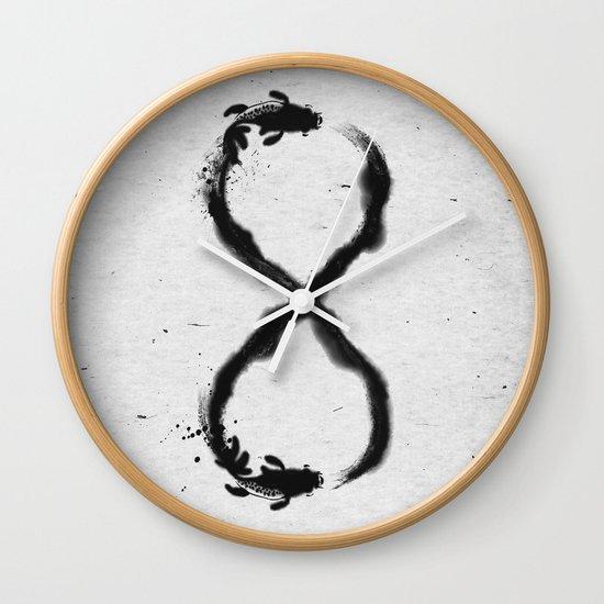 Forever Koi Wall Clock
