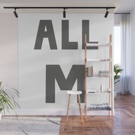 ALL M Wall Mural