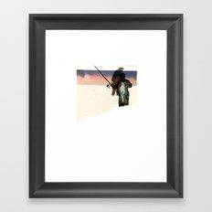 HOOK// Framed Art Print