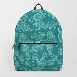 Manatees Backpack