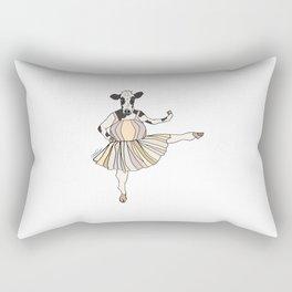 Cow Ballerina Tutu Rectangular Pillow