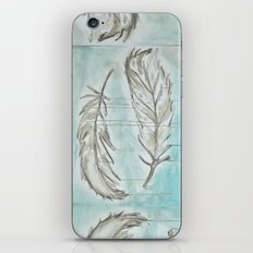 Feathers and memories iPhone & iPod Skin
