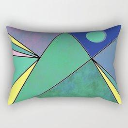 The Magic Pyramid Rectangular Pillow