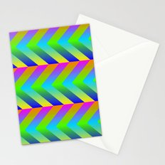 Colorful Gradients Stationery Cards