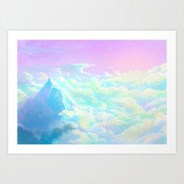 Opal Air Art Print