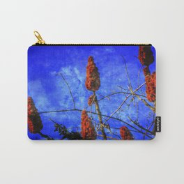 Sumac in Bloom Carry-All Pouch