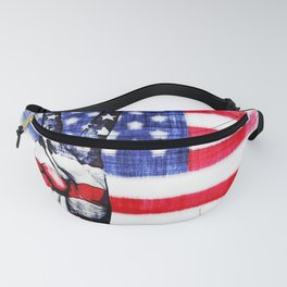 Peace To America Fanny Pack