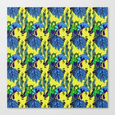 Jamaican Botanicals - Midnight Canvas Print