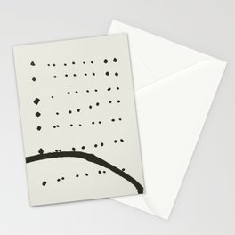 « tempête de neige » Stationery Cards