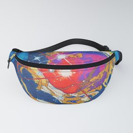 Cosmos 3 Fanny Pack