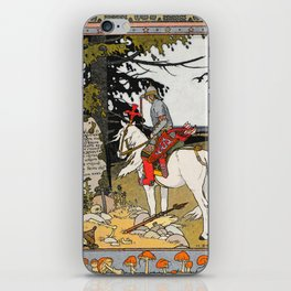 Rider By The Grave By Ivan Biblin iPhone Skin